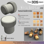 Free 3DS : 002-whisky-bottle-cap