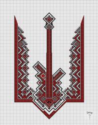 Cross Stitch design - Ukr pattern (upd) by Bimep