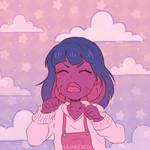 Animated Commission. Crying. Nadette by NAP4E