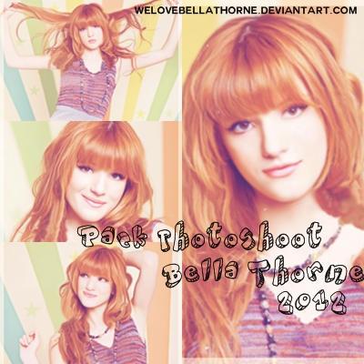 Pack New Photoshoot Bella Thorne 2012 by WeLoveBellaThorne