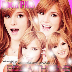 Pack PNG Bella Thorne