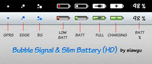 Bubble Signal and Slim Battery
