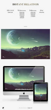 Distant Relatives Wallpaper Pack by PaulHectorT