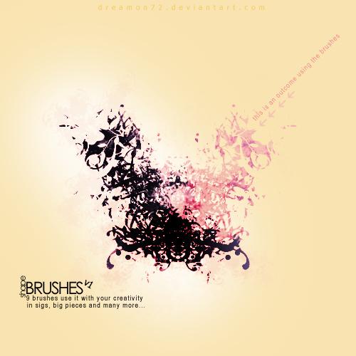 shape brushes v1 by dreamon72