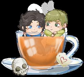 Battery Johnlock tea by Fufunha
