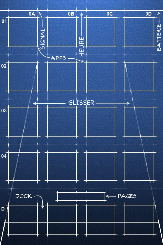 Blueprint iPhone 4/4S fr_US by Gotier