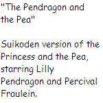 The Pendragon and the Pea by SierraMikainLatkje
