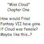 'Miss Cloud' Chapter One by SierraMikainLatkje