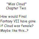 'Miss Cloud' Chapter Two by SierraMikainLatkje
