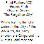 FFVII: Enuma Elish - Chapter Seven