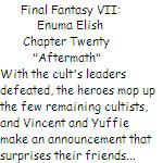 FFVII:  Enuma Elish - Chapter Twenty by SierraMikainLatkje