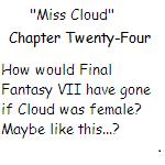 ''Miss Cloud'' Chapter Twenty-Four by SierraMikainLatkje