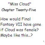 ''Miss Cloud'' Chapter Twenty-Five by SierraMikainLatkje