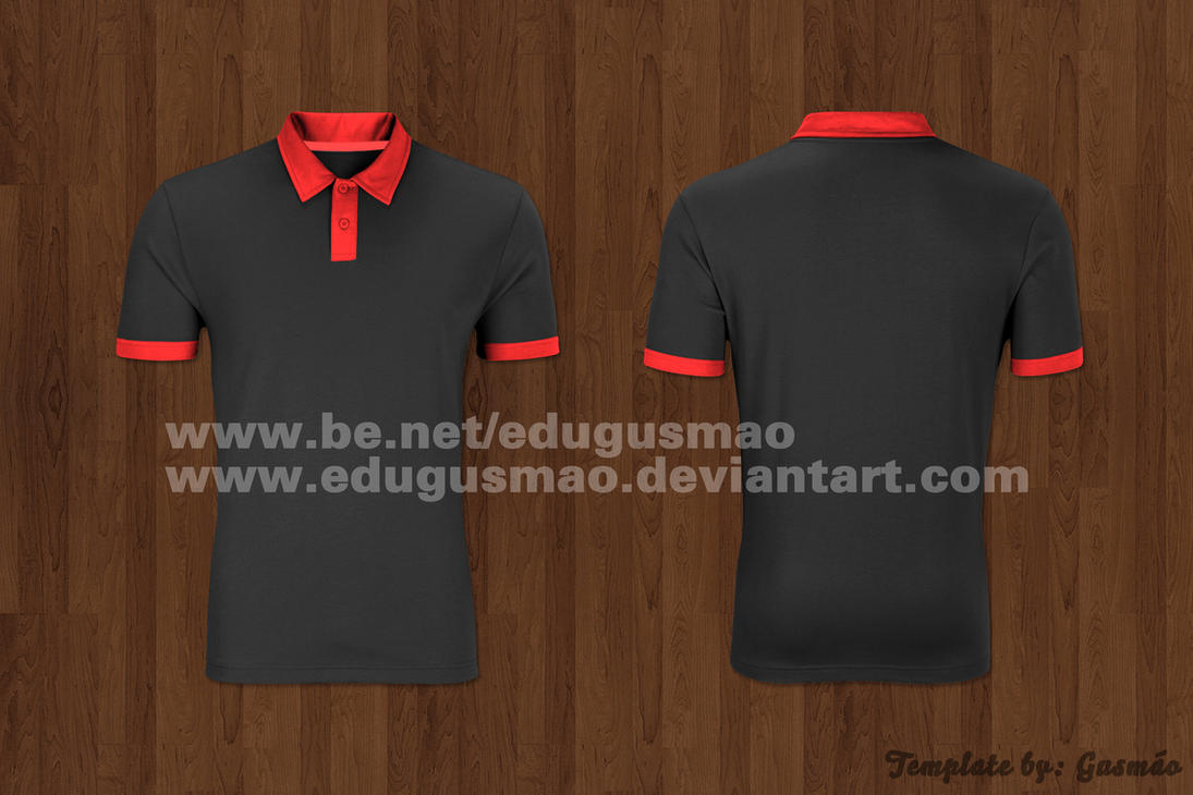 Template Blusa Polo by edugusmao on DeviantArt