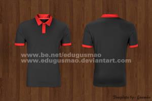 Template Blusa Polo by edugusmao