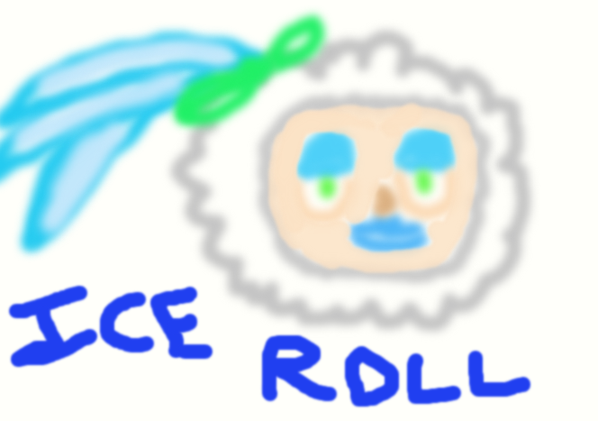 Roll + Ice Man = Ice Roll by LightDemonCodeH