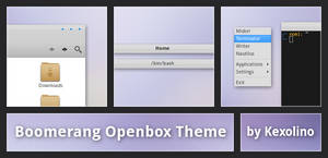 Boomerang Openbox Theme