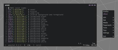 Hybrid Openbox Theme by kexolino