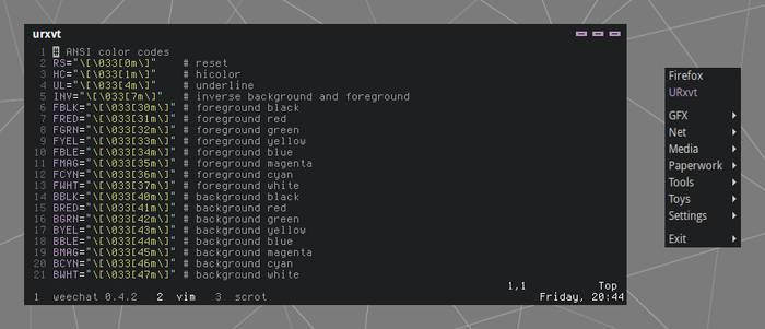 Hybrid Openbox Theme
