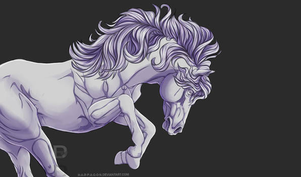 free horse lineart