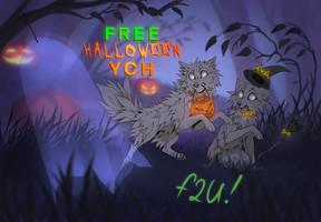 F2U Halloween YCH/base