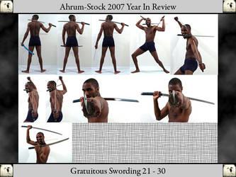 Gratuitous Swording 07 YIR 3 by Ahrum-Stock