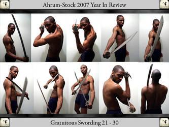 Gratuitous Swording 07 YIR 4 by Ahrum-Stock