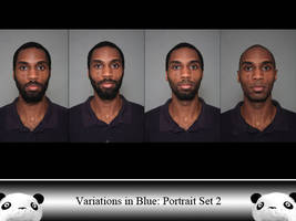 ViB Portrait Set  2 by Ahrum-Stock