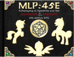 MLP45E - Dungeons and Dragons With Ponies!