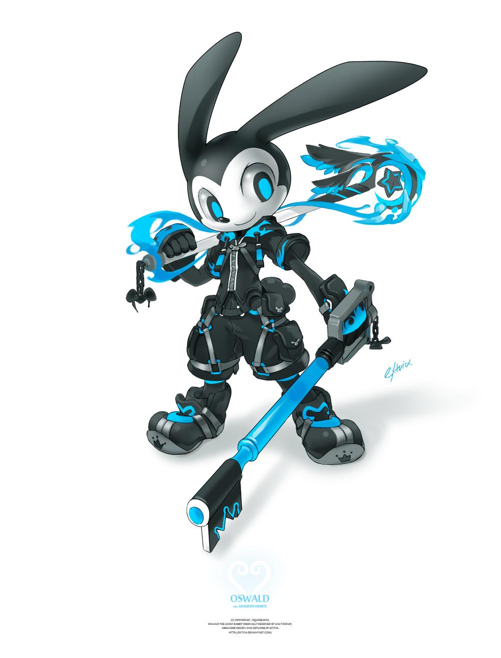 Oswald in Kingdom Hearts by TysonTan