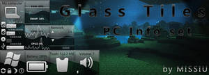 Glass Tiles Theme - PC Info  :XWidget: