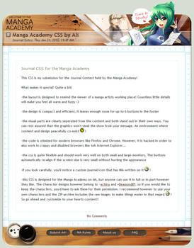 Manga Academy - Journal CSS
