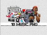 10 MUSIC PNG +
