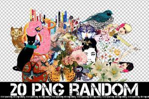 20 RANDOM PNG +