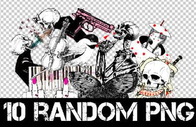 1O RANDOM PNG +