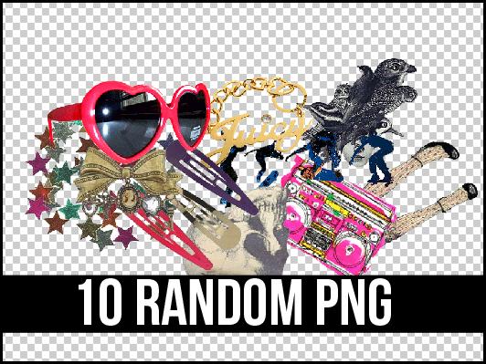 10 RANDOM PNG + by Discopada