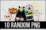 10 RANDOM PNG 3 +