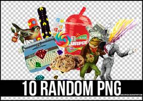 10 RANDOM PNG 4 + by Discopada