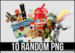 10 RANDOM PNG 4 +