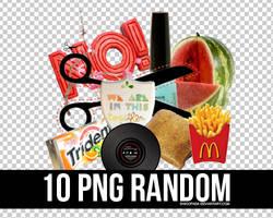 10 RANDOM PNG 5 + by Discopada