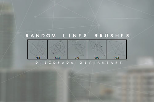 5 lines brushes