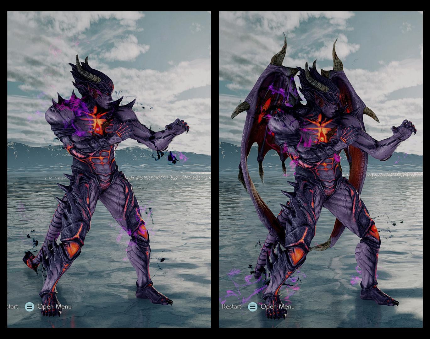 Tekken 7 Devil Kazuya By Rune 7 On Deviantart