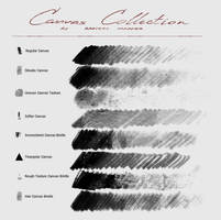 Canvas Collection - Photoshop Brush Pack by Marredae