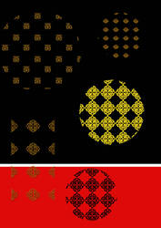 oriental vector pattern