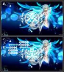 Battle Seraph (Eve from EL-  Sword) rainmeter