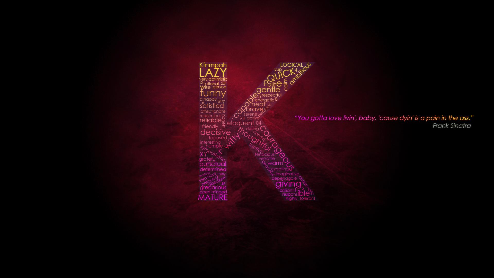 I Love K Letter Wallpaper: K Letter Wallpapers Hd