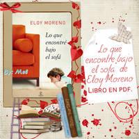 Libro - LO QUE ENCONTRE BAJO EL SOFA - Eloy Moreno