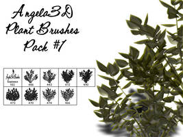 Angela3D Plant Brushes Set 1