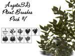 Angela3D Plant Brushes Set 1