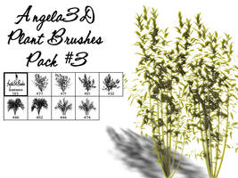 Angela3D Plant Brushes Set 3 by angela3d